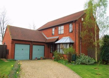 Thumbnail 4 bed detached house for sale in Chesham Drive, Baston, Lincolnshire