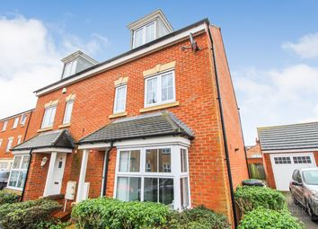 Thumbnail 4 bed town house for sale in Crowe Road, Bedford
