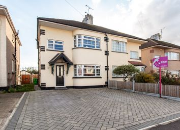 Thumbnail 3 bed semi-detached house for sale in Byrne Drive, Southend-On-Sea
