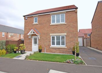 Thumbnail 3 bed detached house for sale in Rosewood Drive, Ponteland, Newcastle Upon Tyne