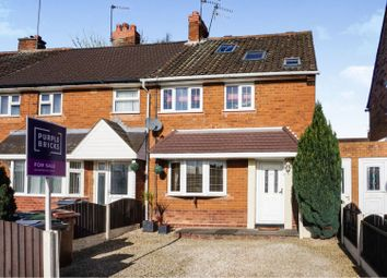 3 bed end terrace house for sale in Faraday Road, Walsall WS2