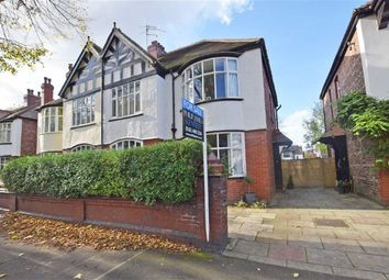 Thumbnail 4 bed semi-detached house for sale in Lyndhurst Road, Didsbury, Manchester