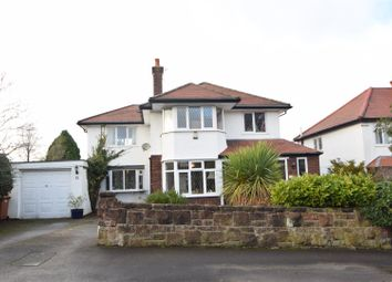 Thumbnail 4 bed detached house for sale in Penmon Drive, Heswall, Wirral