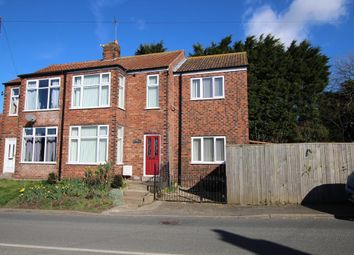 Thumbnail 3 bed semi-detached house for sale in Main Street, Welwick, East Yorkshire