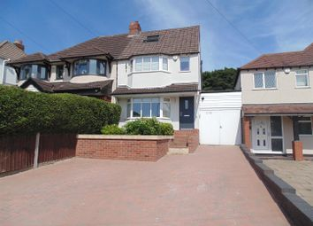 Thumbnail 3 bed semi-detached house for sale in Aldridge Road, Streetly, Sutton Coldfield