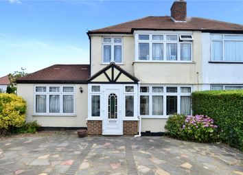 Thumbnail 4 bed semi-detached house for sale in Marlow Drive, Cheam, Sutton