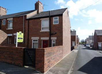 Thumbnail 2 bed terraced house for sale in Hawthorn Street, Easington Colliery, Peterlee