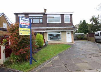 Thumbnail 3 bed semi-detached house to rent in Brookside Close, Billinge, Wigan