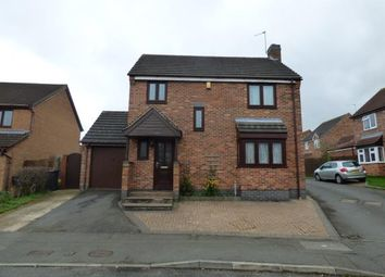 Thumbnail 3 bed detached house for sale in Foxglove Road, Hamilton, Leicester