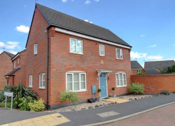 Abbott Drive, Stoney Stanton, Leicester LE9. 3 bed detached house