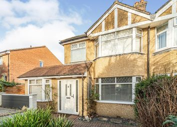 Thumbnail 3 bed semi-detached house for sale in Manor Road, Hatfield