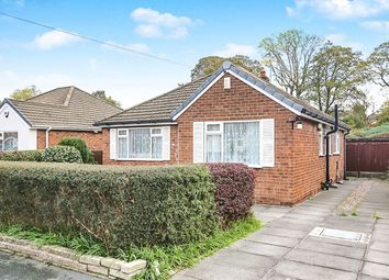Thumbnail 2 bed bungalow for sale in Hazelwood Road, Hazel Grove, Stockport