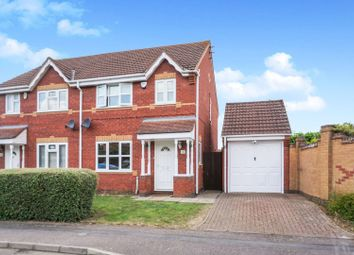 3 bed semi-detached house for sale in Highdown Close, Hunsbury Hill, Northampton NN4