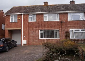 Thumbnail 4 bed semi-detached house for sale in Derwent Drive, Tewkesbury