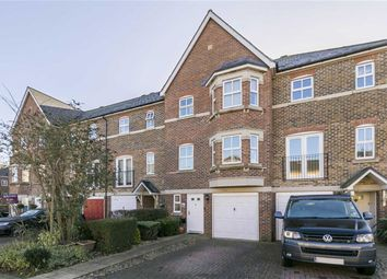 Thumbnail 4 bed town house for sale in Cavendish Walk, Epsom, Surrey