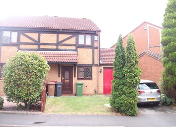 Thumbnail 2 bed semi-detached house to rent in Tilesford Close, Solihull