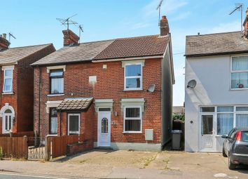 Thumbnail 3 bedroom semi-detached house for sale in Derby Road, Ipswich