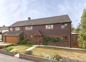 Thumbnail 5 bed detached house for sale in Ronneby Close, Weybridge, Surrey