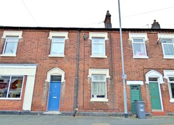 Thumbnail 3 bed terraced house to rent in Belgrave Road, Dresden, Stoke-On-Trent