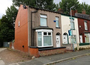 Thumbnail 3 bed end terrace house for sale in Queens Road, Chadderton, Oldham