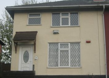 Thumbnail 3 bedroom semi-detached house to rent in Holden Crescent, Leamore, Walsall