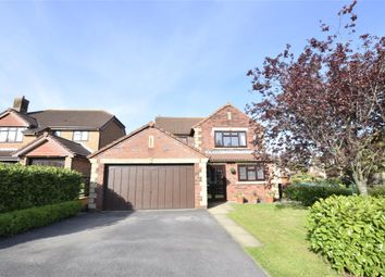 Thumbnail 4 bed detached house for sale in Davis Close, Barrs Court