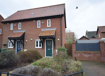 Thumbnail 1 bed semi-detached house for sale in Wheeler Crescent, Easton, Norwich, Norfolk