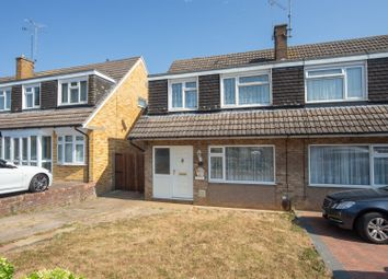 Thumbnail 3 bedroom semi-detached house for sale in Sudbury Road, Luton
