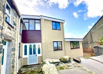 Thumbnail 2 bed semi-detached house for sale in Chapel Street, Rhiwlas, Bangor, Gwynedd.