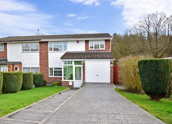 Thumbnail 3 bed semi-detached house for sale in Hever Wood Road, West Kingsdown, Sevenoaks, Kent