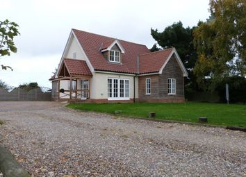 Thumbnail 3 bed detached house to rent in High Road, Burgh Castle, Great Yarmouth
