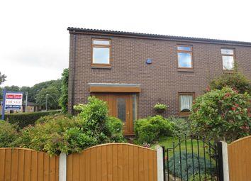 Thumbnail 3 bedroom town house for sale in Hodnet Grove, Hanley, Stoke-On-Trent