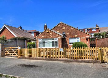 Thumbnail 3 bed detached bungalow for sale in Hindover Crescent, Seaford, East Sussex