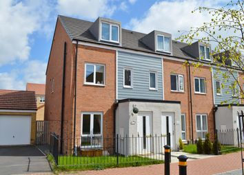 Thumbnail 3 bed town house to rent in Crimdon Beck Close, Stockton-On-Tees