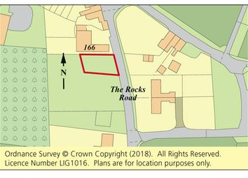 Thumbnail Land for sale in Land Adj. 166 The Rocks Road, East Malling, Kent