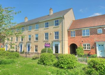 Thumbnail 5 bed town house for sale in Bromedale Avenue, Mulbarton, Norwich