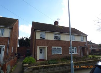 Thumbnail 3 bedroom semi-detached house to rent in Northgate, Lowestoft