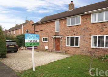 Thumbnail 3 bed semi-detached house for sale in Bishops Drive, Bishops Cleeve, Cheltenham