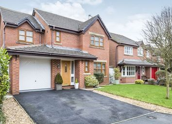Thumbnail 4 bed detached house for sale in Shepherds Avenue, Bowgreave, Preston