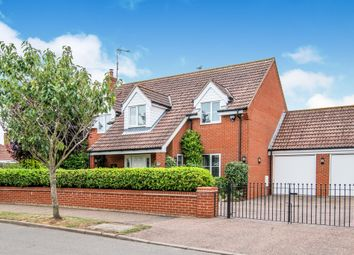 Thumbnail 4 bed detached house for sale in Redwood Court, Ormesby, Great Yarmouth