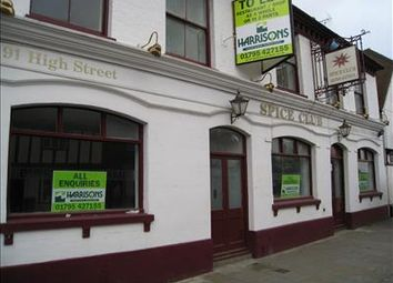 Thumbnail Restaurant/cafe to let in 89 High Street, Milton Regis, Sittingbourne