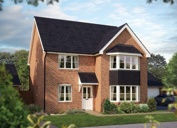 "Thumbnail 5 bed property for sale in ""The Oxford "" at Park Road, Hellingly, Hailsham"