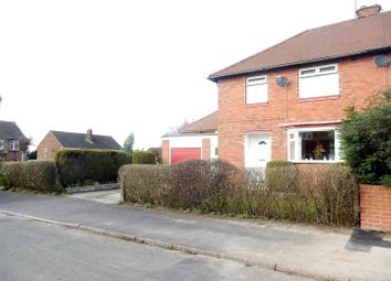 Thumbnail 3 bed semi-detached house for sale in Lodore Road, Worksop