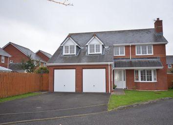 Thumbnail 5 bed detached house for sale in Clos Dafydd, Llanbadarn Fawr, Aberystwyth
