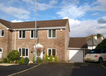 Thumbnail 3 bed semi-detached house for sale in Geffery Close, Landrake, Saltash