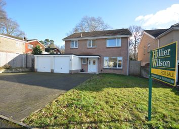 Thumbnail 4 bed detached house for sale in Whitchurch Avenue, Broadstone