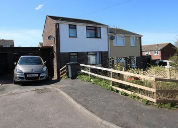 Thumbnail 3 bed semi-detached house for sale in Grove Close, Watchet