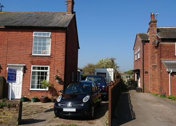 Thumbnail 3 bed semi-detached house for sale in The Street, Blundeston, Lowestoft, Suffolk