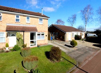 Thumbnail 2 bed semi-detached house for sale in Clematis Close, Driffield