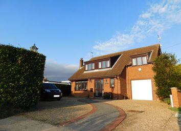 Thumbnail 4 bed detached house for sale in Mill Road, Stokesby, Great Yarmouth